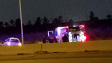 Vehicle flips, lands on person during 2-vehicle crash&#x3b; 5 injured