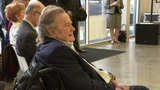 Former President George H.W. Bush attends ribbon-cutting ceremony