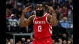 Harden scores 34 as Rockets hold off Timberwolves 129-120