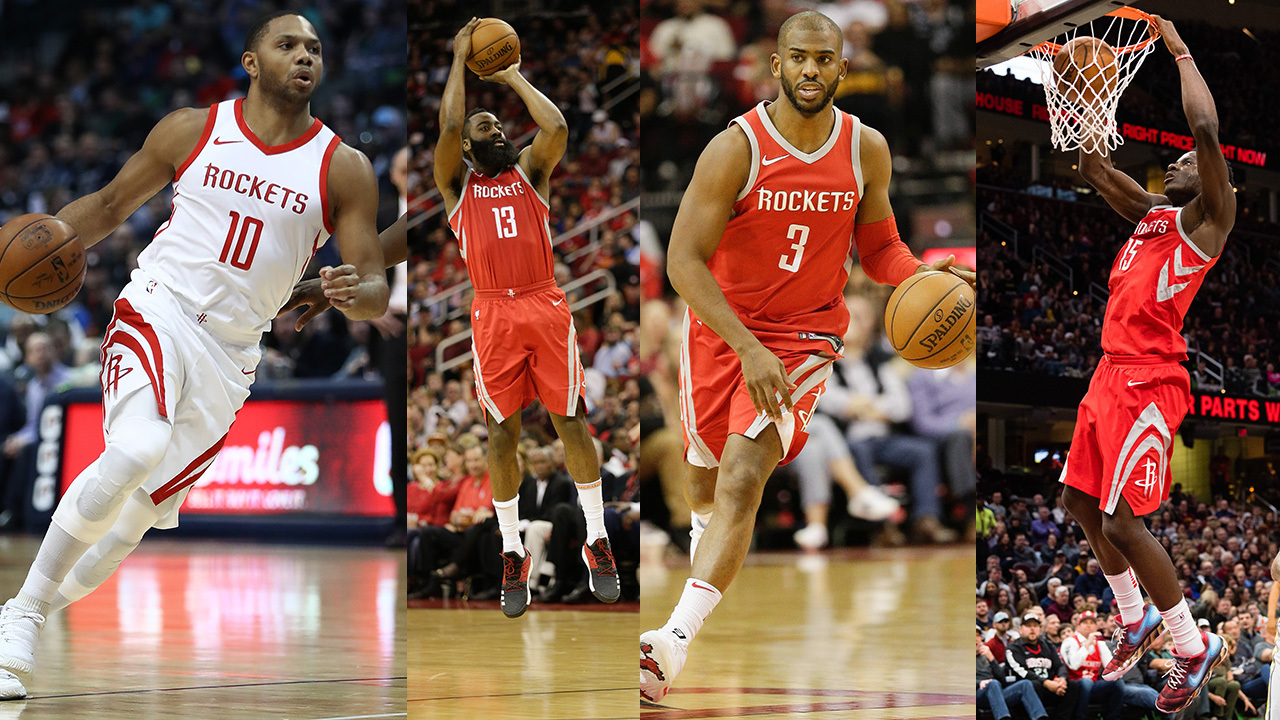 Do you agree that the Rockets have the best chance to win the...