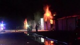 At least 72 storage units destroyed in massive fire in Willis