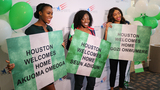 Houston celebrates historic run for Nigerian women's bobsled team at Olympics