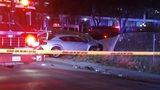 Man dies after driver rams car into group outside Montrose nightclub