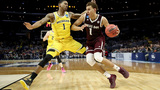No. 7 Aggies fall to No. 3 Wolverines in Sweet 16 matchup