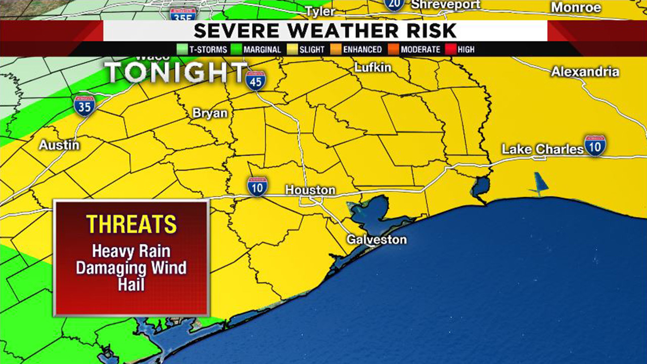 Map Of Texas Storms.Weather Alert Severe Thunderstorm Watch Issued For Se Texas