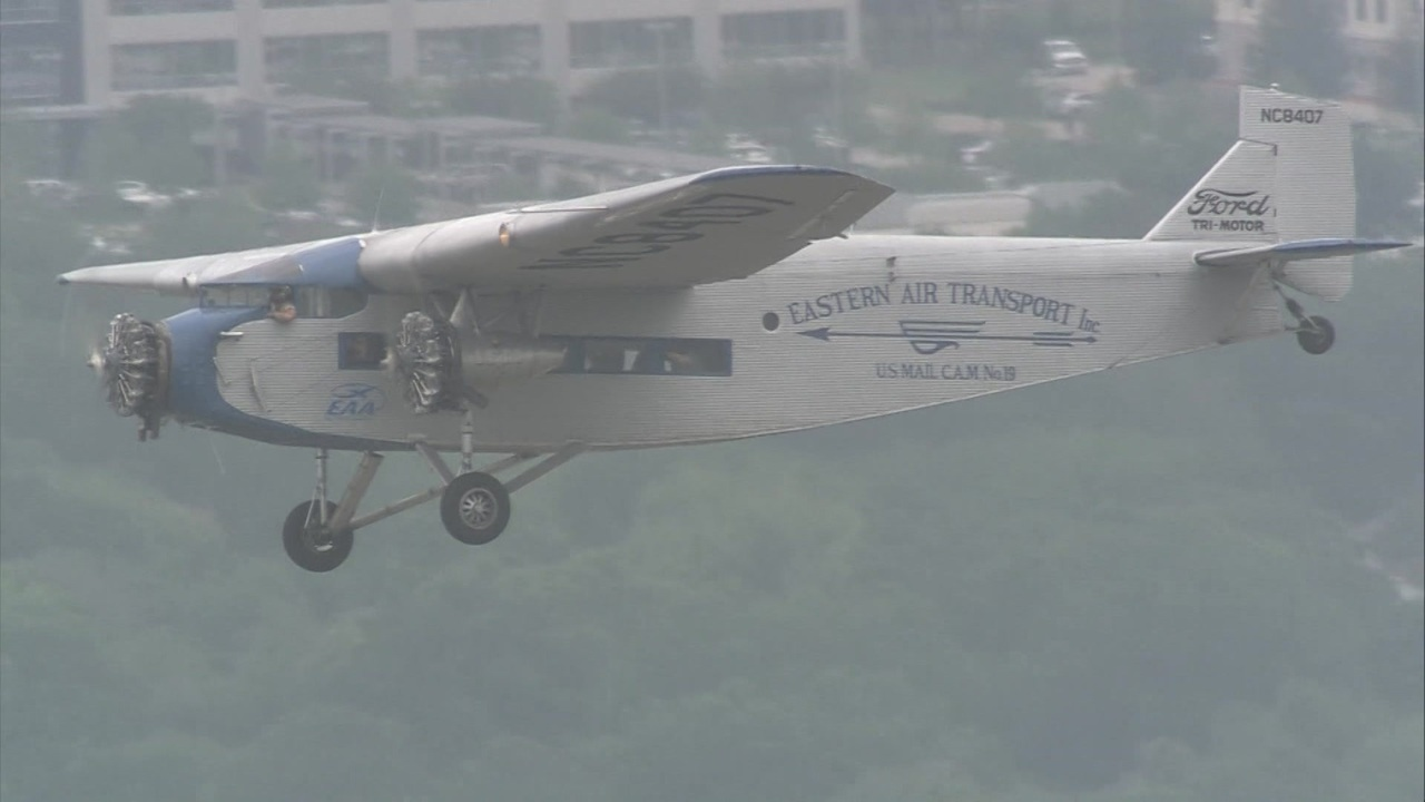 Vintage Plane Ride Closer Look At Ford Tri Motor