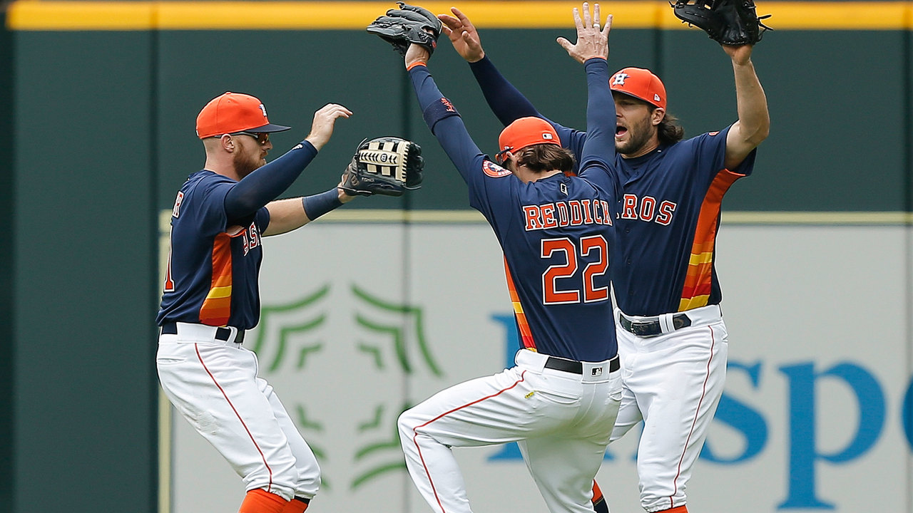 Stassi Morton Lead Astros Over Padres 4 1 For Series Win