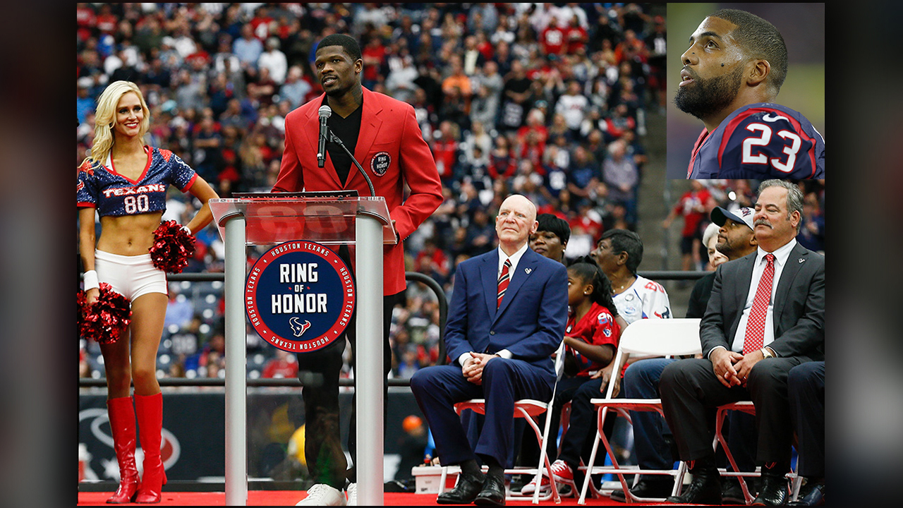 Andre Johnson Ring Of Honor