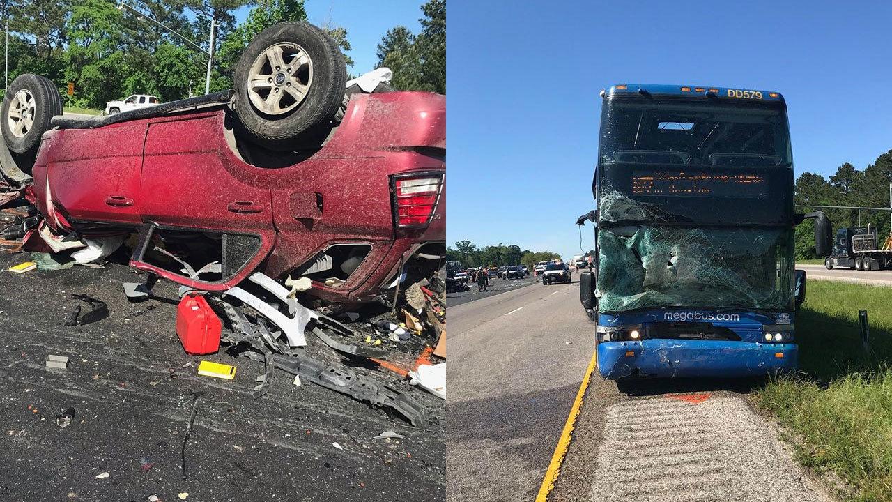 2 killed in I-45 crash involving Megabus