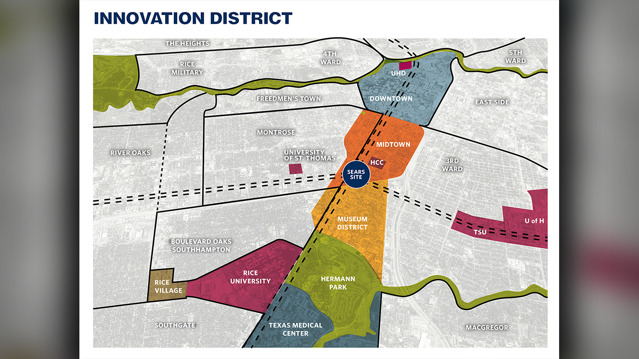 Houston innovation district to be anchored by