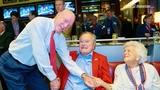 Texans owner Bob McNair pays his respects to Barbara Bush