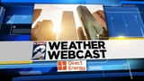 Cloudy Saturday with few showers ahead