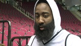 James Harden hands over game-worn shoes to Rockets fan from Taiwan