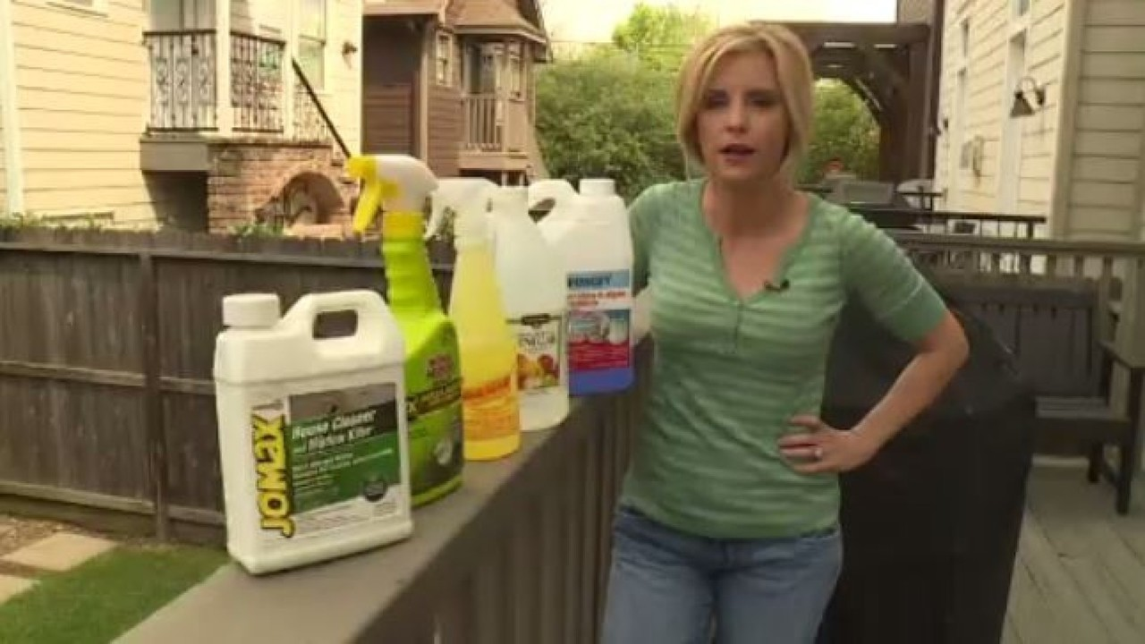 Video Thumbnail For Best Products To Remove Outdoor Mold Mildew