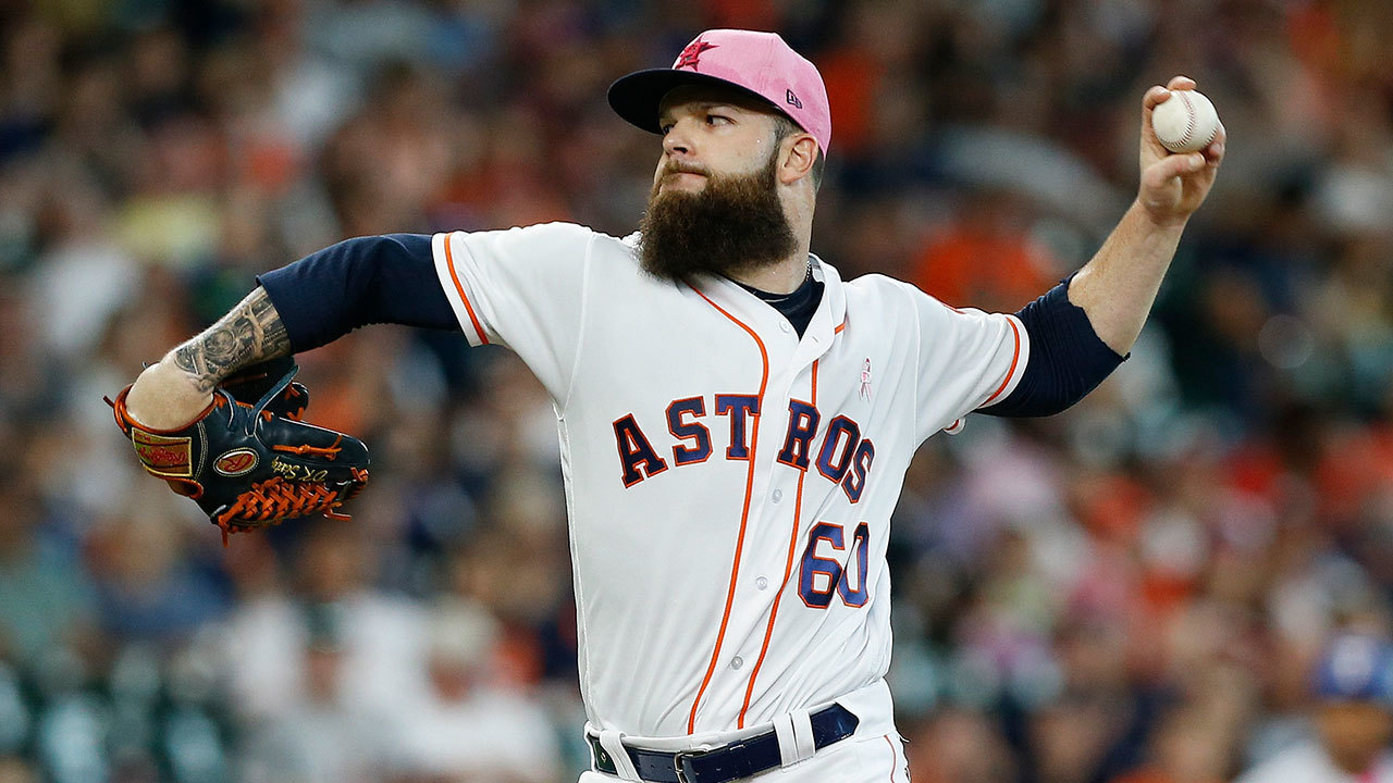 Dallas Keuchel S 7 Shutout Innings Lead Astros Over