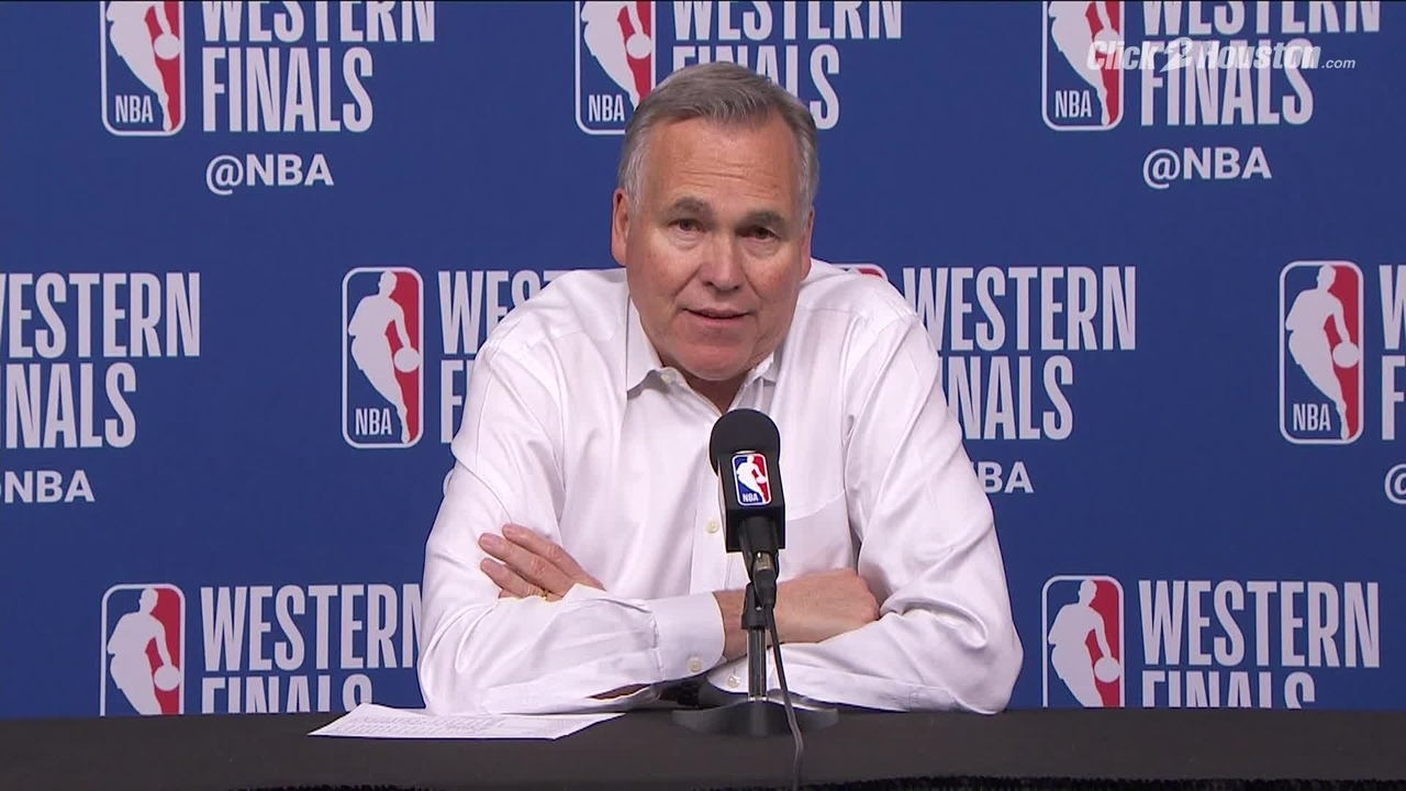 6b8e8d6840b Video thumbnail for Rockets head coach Mike D Antoni on what happened in the  second