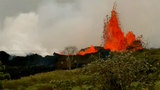 Lava spews from Kilauea volcano
