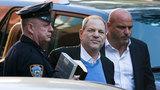 Harvey Weinstein arrives to surrender in sex assault probe