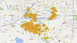Major power outage reported in Fort Bend County, Humble
