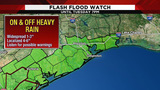 WEATHER ALERT: Flash flood warning issued for 4 counties