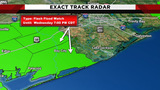 Flash flood watch expires as rain moves through southeast Texas
