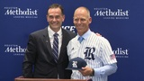 Matt Bragga introduced as head coach of Rice University baseball team
