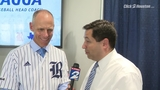 Adam Wexler interviews Rice University baseball coach Matt Bragga