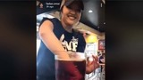 VIDEO: Raising Cane's employee stirs iced tea with her arm