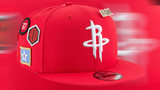 This is the Rockets hat you could see at the NBA Draft