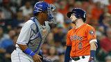 Herrera robs HR, triples in run as Royals top Astros