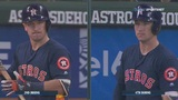 Bregman shaves mustache off during game