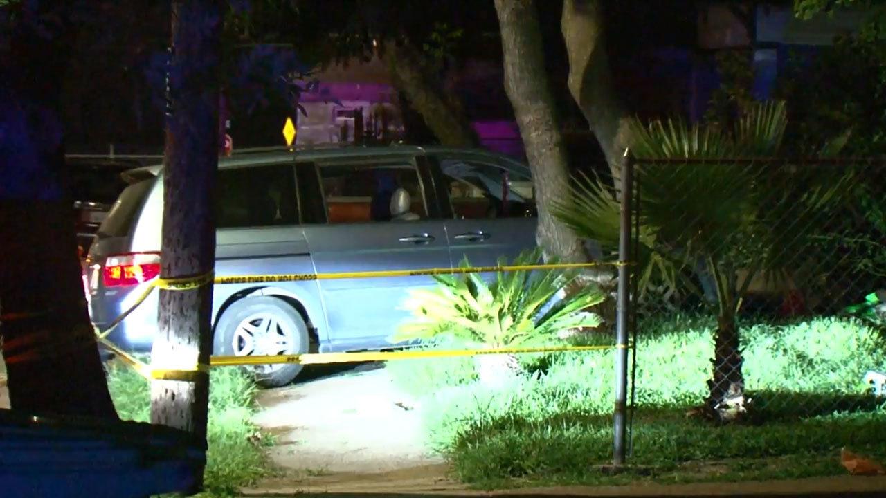 Man With Gunshot Wound Dies After Crashing Into Car While