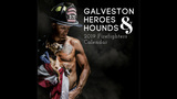 Muscle-bound firefighters shooting 2019 calendar in Galveston
