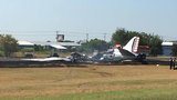 Multiple people injured after plane crash at Austin-area airport, officials say