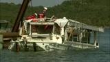 Duck boat that sank raised from Missouri lake