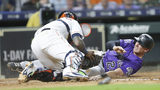 Astros drop 5th straight with 5-1 loss to Rockies