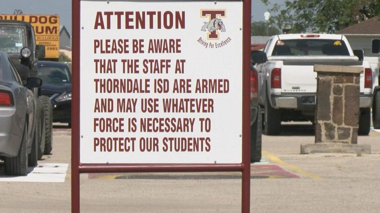 Texas School District Arms Teachers