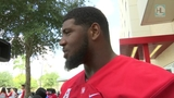 Ed Oliver, UH football team help fellow students on move-in day