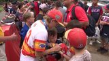 Post Oak Little League team embraces support ahead of elimination game