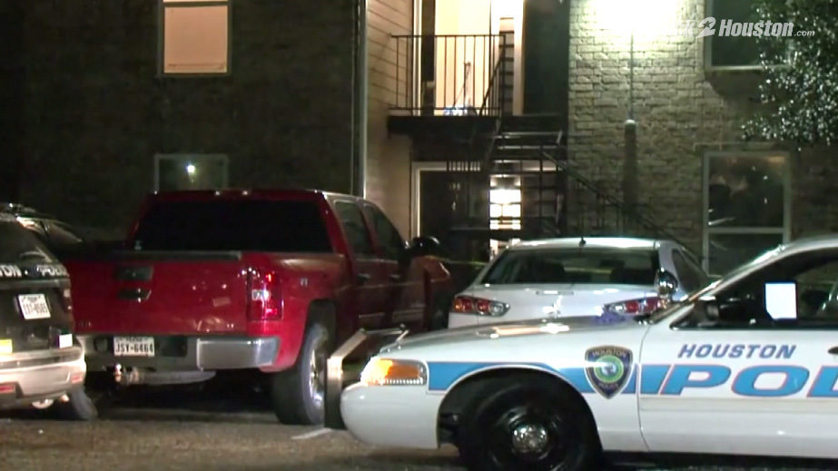 husband shot after attacking man inside apartment with