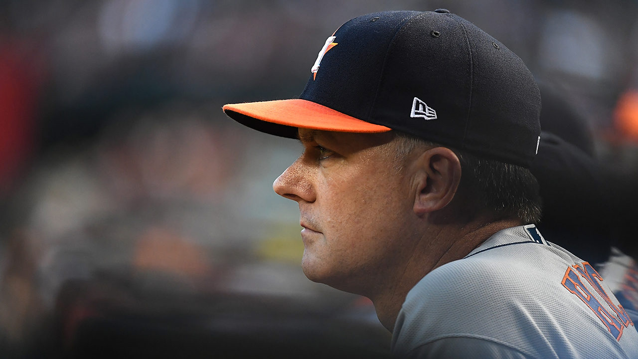 Houston Astros' A.J. Hinch receives one-game suspension