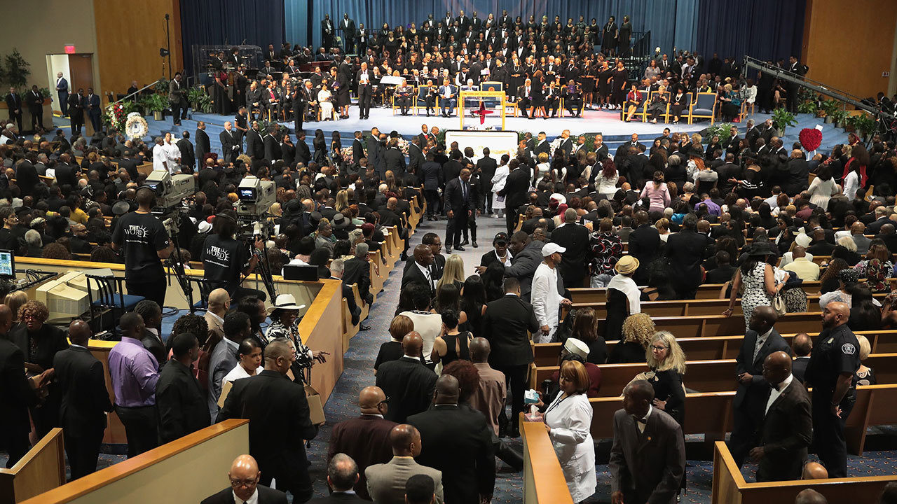 Aretha Franklin S Funeral Held In Detroit
