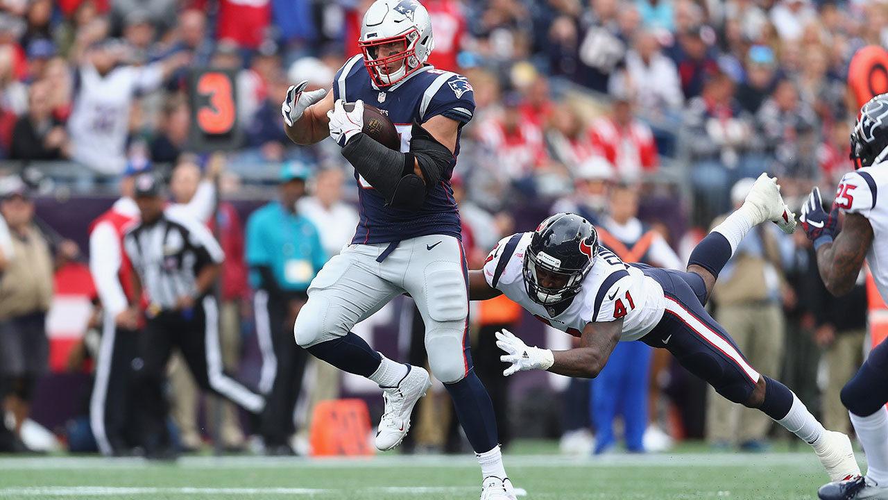 Ne Patriots Gronkowski >> Houston Texans drop season opener to New England Patriots 27-20