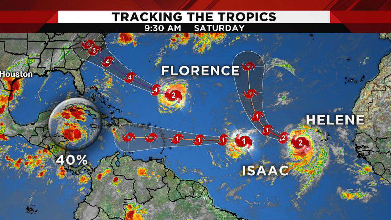 Tracking The Tropics Watching System Headed To Gulf 3