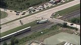 Amtrak train collides with tractor-trailer in Missouri City, officials say