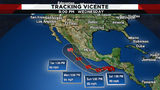 Tropical Storm Vicente forms off Guatemalan coast, may bring rain to Texas
