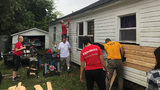 Dozens of volunteers restore 97-year-old veteran widow's home in 5th Ward