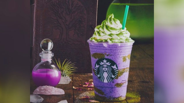 Just In Time For Halloween Starbucks Witch S Brew Creme