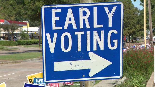 Everything you need to know about early voting for Nov. 5 election