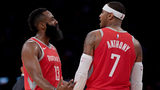 Still no 'Melo as Rockets prepare for matchup with Warriors